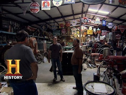 American Pickers: Open For Business | History