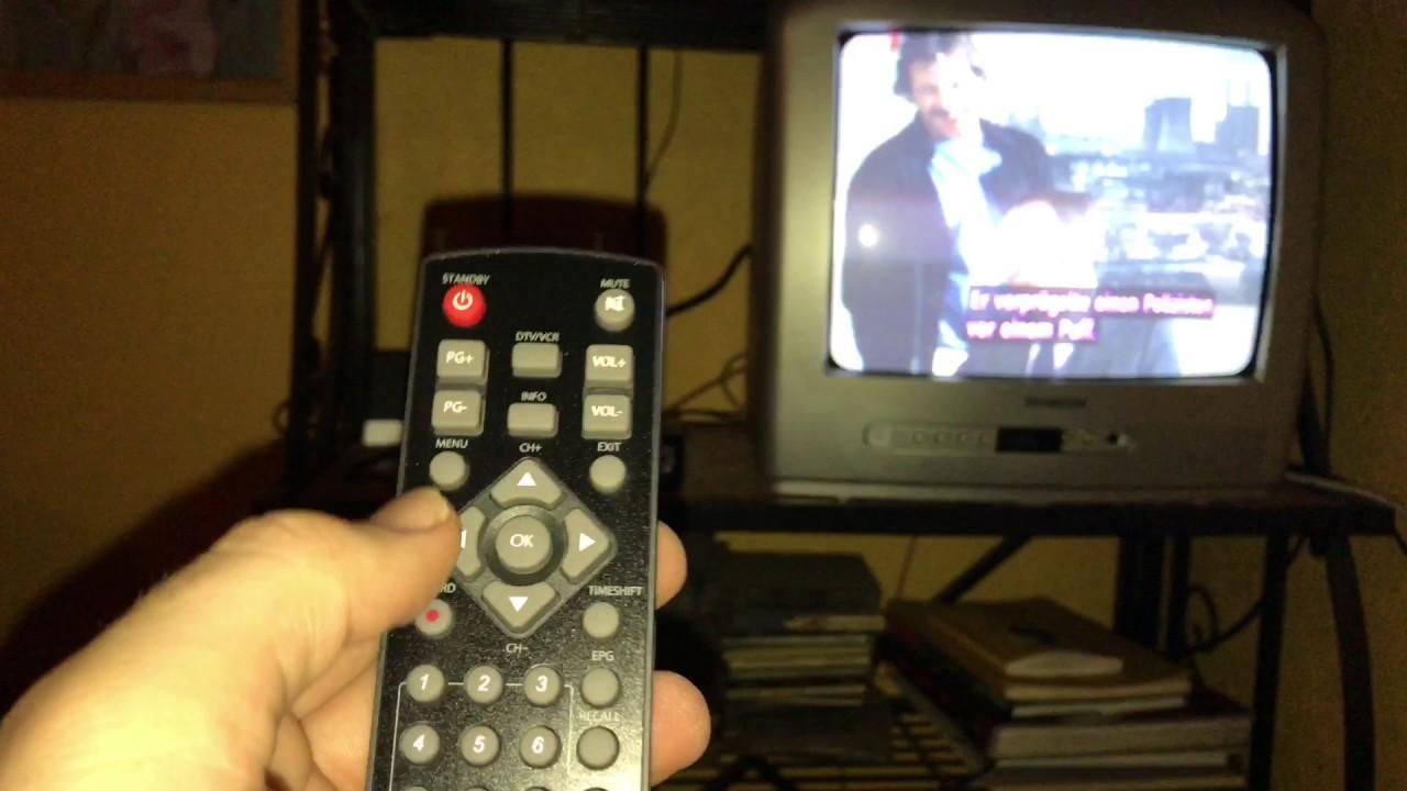 Kabel Digital Receiver An Röhren Fernseher Anschließen Und