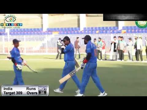 Blind Cricket World Cup 2018  Pakistan vs India Final  India Winning Moments