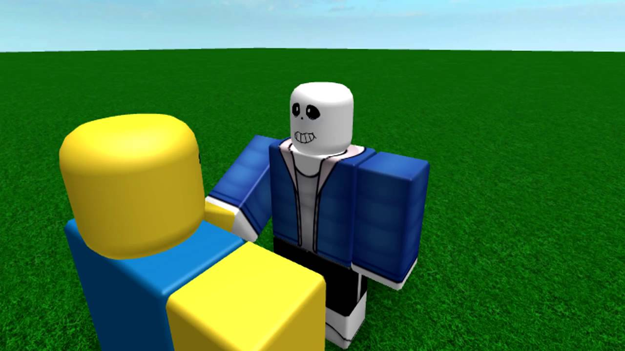 the sans song roblox