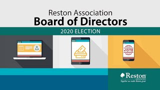 Candidates' Forum - 2020 RA Board of Directors Election - February 26, 2020