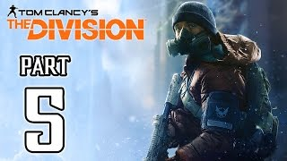 The Division Walkthrough PART 5 (PS4) No Commentary Gameplay @ 1080p HD ✔