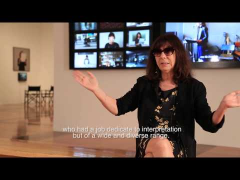 Interview with the artist Sophie Calle about her piece Take care of yourself
