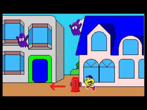 Arcade Game: Pac-Land (1984 Namco)