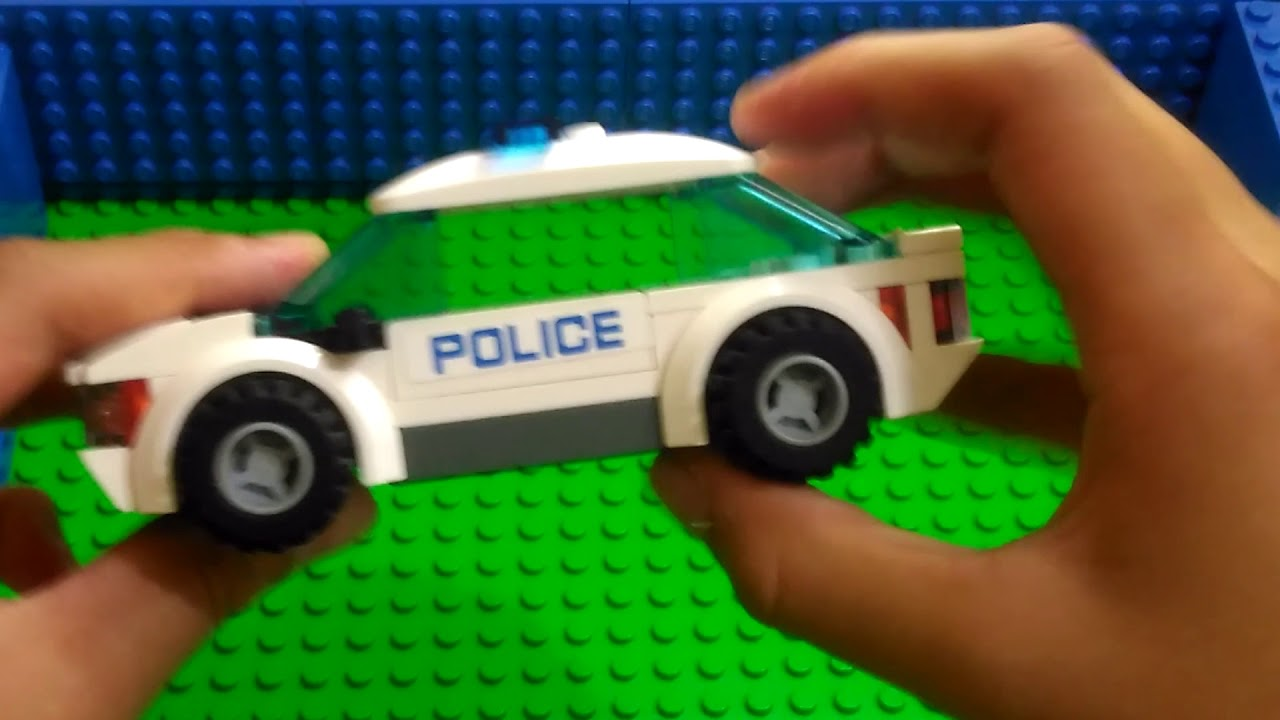 Review Lego Mobil Polisi Lego Indonesia Youtube