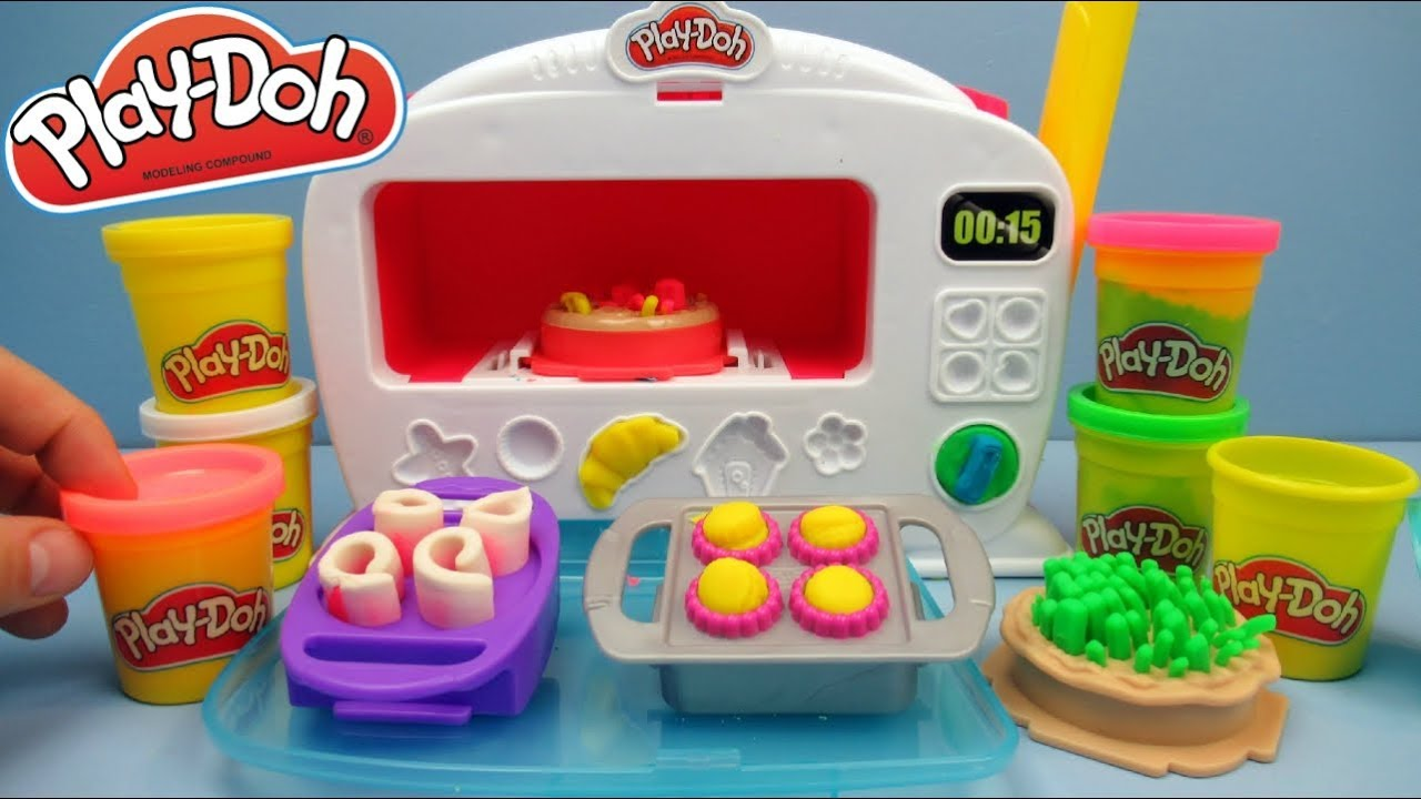 Play Doh Kitchen Magical Oven Toy Review | Unboxing and ...
