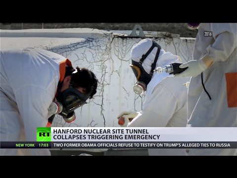'Most toxic place in US': Hanford nuclear waste site tunnel collapses triggering emergency