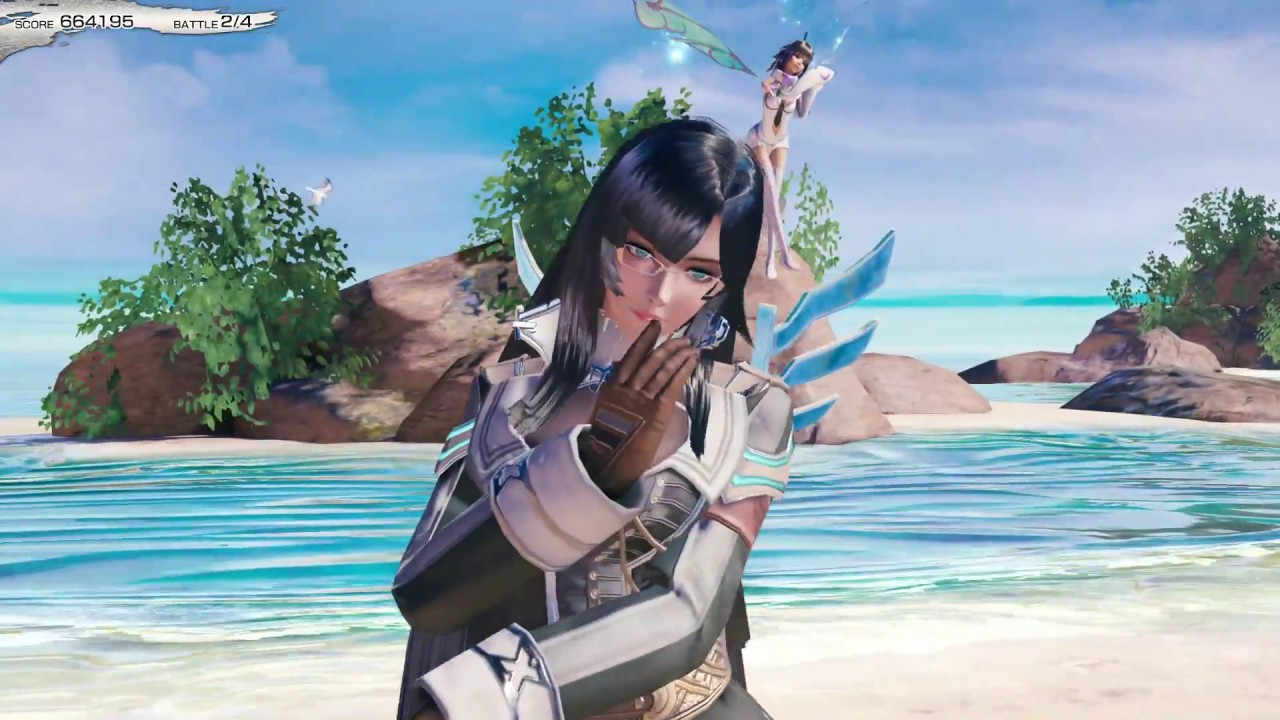 Mobius Final Fantasy Play Walkthrough Summer Resort Beach Rally Mage Route