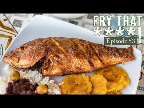 Dominican Fried Red Snapper