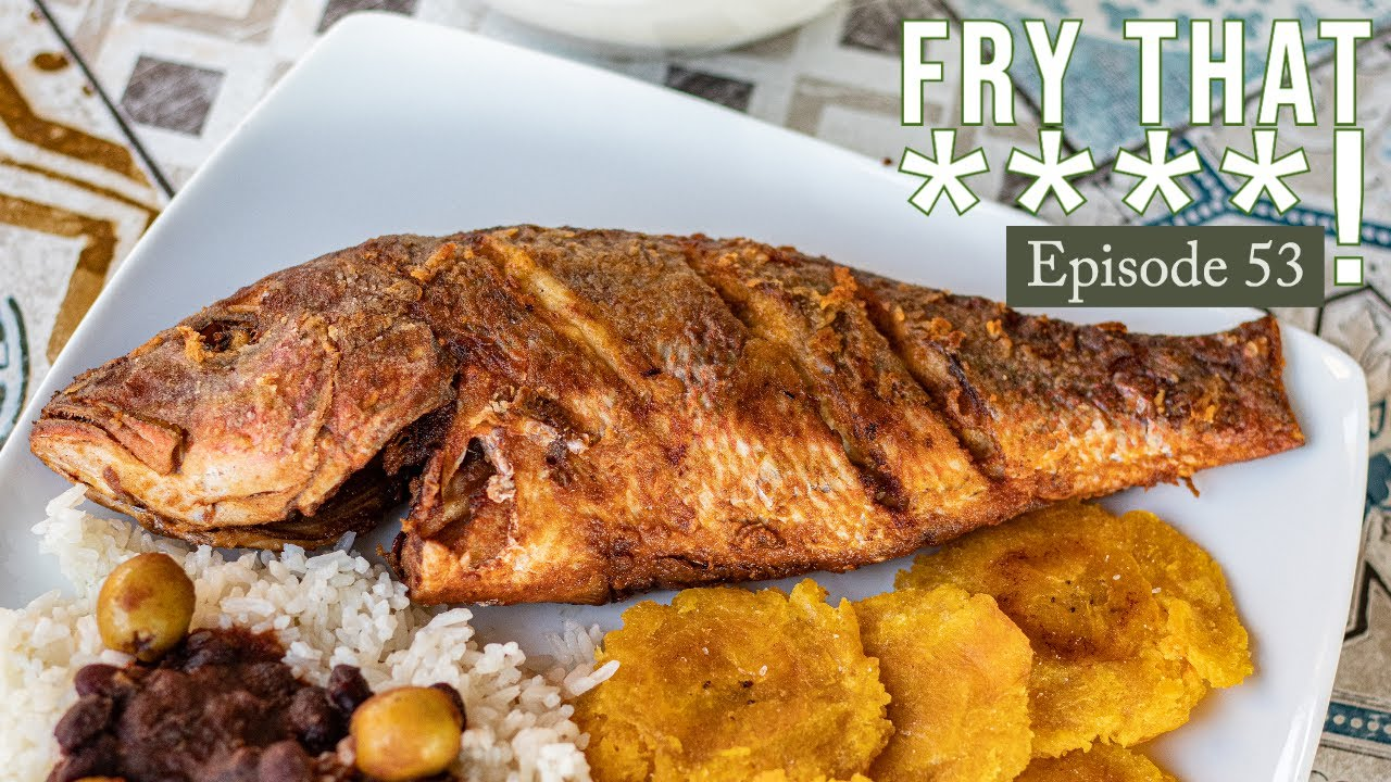 Dominican Fried Red Snapper Belqui S Twist