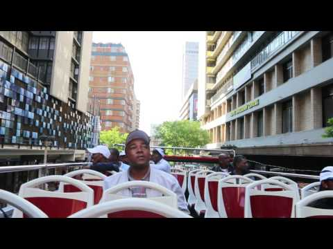 Beautiful sights of Johannesburg on the City Sightseeing bus