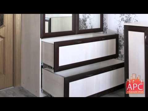 Шкаф и комод для гостиной на заказ