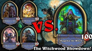 Beating The Final Battle of the Witchwood VS Hagatha The Witch! [Hearthstone]