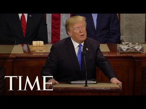 Watch President Trump's State Of The Union Address In 4 Minutes | TIME