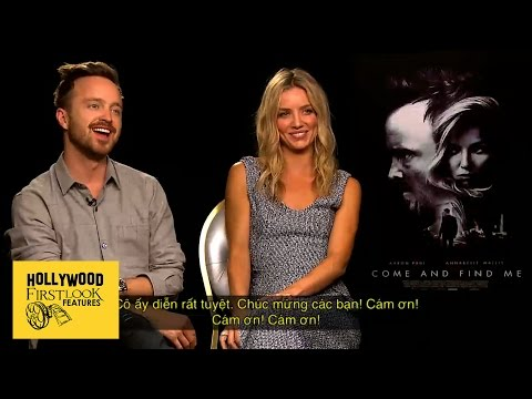 Aaron Paul & Annabelle Wallis share their favorite scenes in  'COME AND FIND ME' (2016)