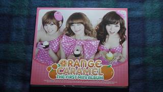 [UNBOXING] Orange Caramel First Mini Album
