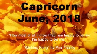 Capricorn WHO IS RETURNING? COMMITMENT OR REJECTION? June 2018 Tarot Reading
