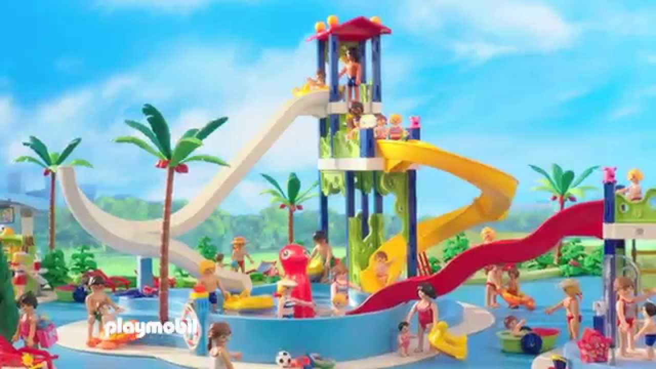 Playmobil presenteert fun in het aquapark nederland for Piscine playmobil
