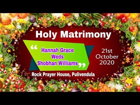 Holy Matrimony | Hannah Grace & Shobhan Williams | Rock Plvd