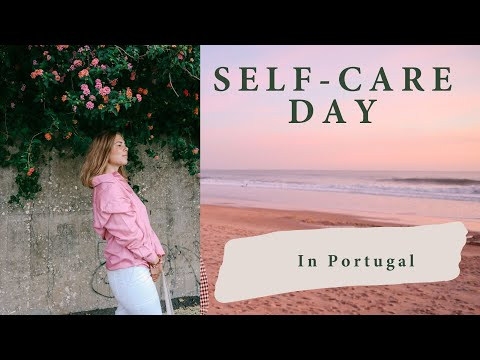 Self-care VLOG from Portugal! Trying organic treatments