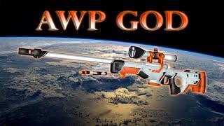 AWP God - CSGO Edit\FragMovie [1080p 60fps].