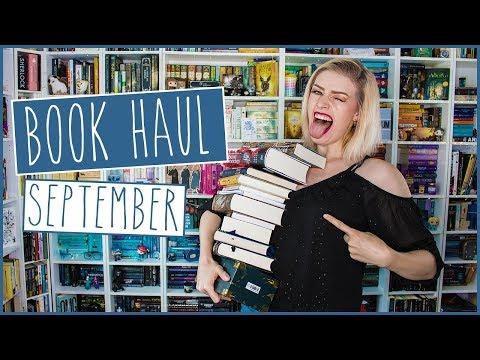 Book Haul September | Ich Brauche Eine Rechtfertigung Für 49 Neue Bücher!
