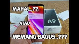 Samsung Galaxy A9 2018 : unboxing ( review part 1 ) - Indonesia