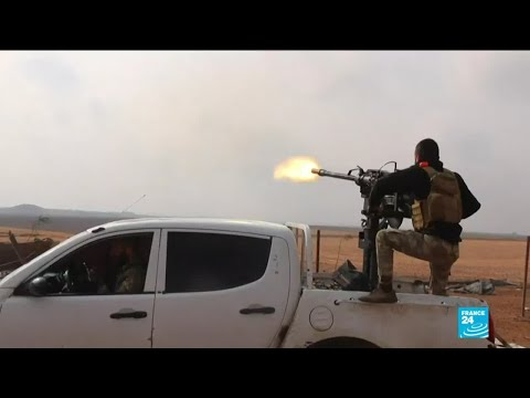 Turkish offensive in Syria: Pro-Ankara fighters exchange fire with the Syrian army near Ras al-Aïn