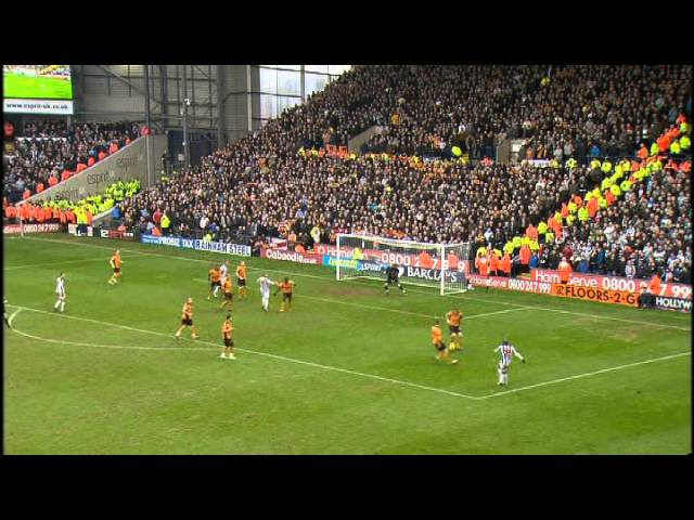 2010 11 West Bromwich Albion V Wolves Youtube