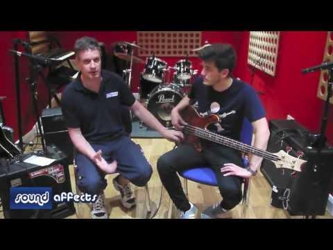 PRS Gary Grainger Signature 4 Bass (Orange Tiger) Demo Review