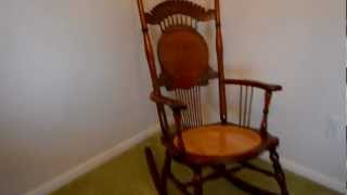 Antique Rocking Chair For Sale