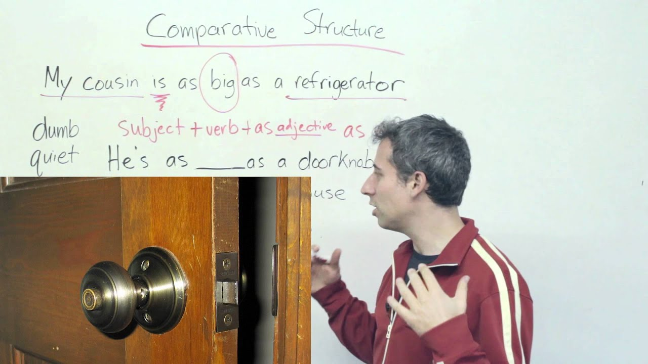 """English Grammar - How to compare: """"as cold as ice"""""""