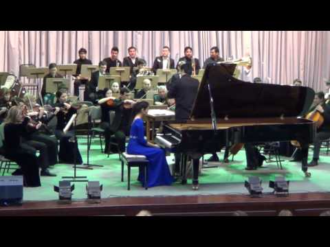 Agata Kim - S. Rachmaninow - 2. Klavierkonzert / Piano Concerto No. 2 (02/2016)