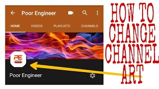 "How to change ""channel art"" for your YouTube channel"