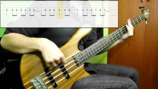 Muse - Psycho (Bass Cover) (Play Along Tabs In)