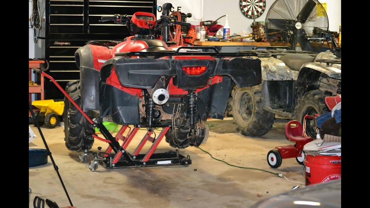 medium resolution of honda foreman 500 atv repair final drive universal joint and swing arm installation tech tips