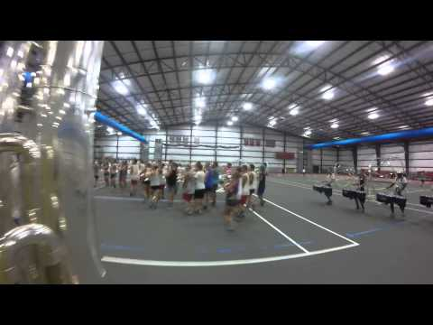 Bluecoats 2015 Contra cam