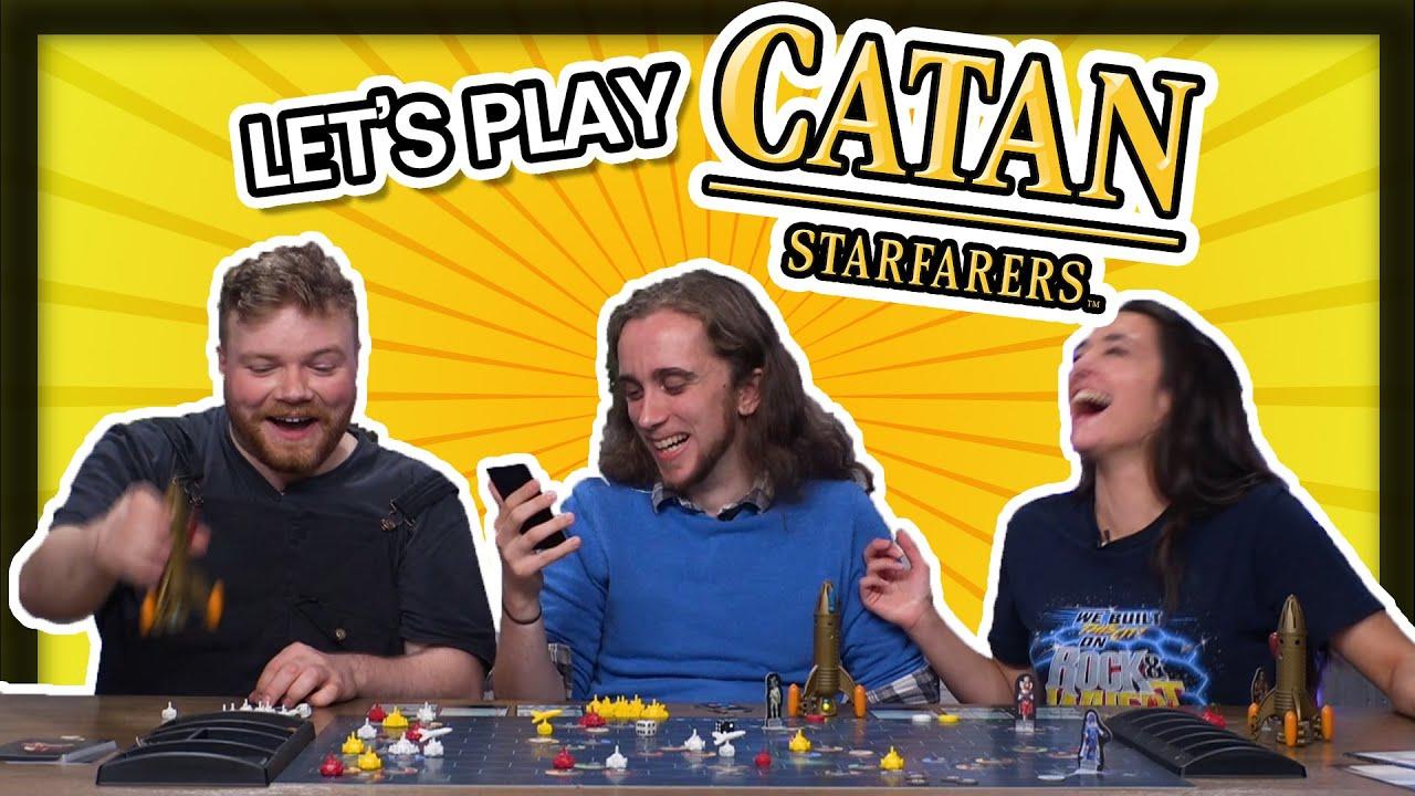 Download Let's Play Catan: Starfarers! CATAN IN SPAAAAAAAACE
