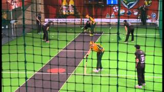 Indoor Cricket Masters World Series 2013 Final Australia vs New Zealand 30 & Over Part 1