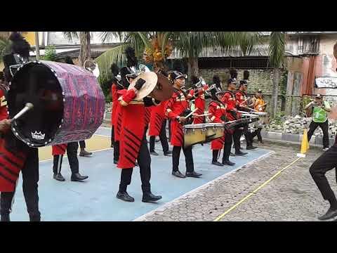 Marching Band Deli Serdang simulasi LBB PDBI