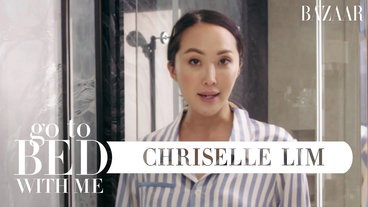 Chriselle Lim's Pregnancy-Safe Nighttime Skin Routine | Go To Bed With Me | Harper's BAZAAR