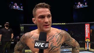 UFC 257: Dustin Poirier Octagon Interview