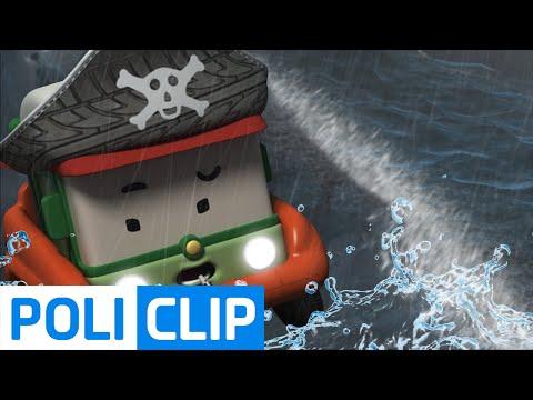 I want to travel the sea | Robocar Poli Clips