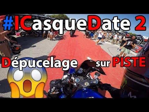 #ICASQUEDATE 2 🔥 - Ma PREMIERE fois sur PISTE 😈 GSXR 600
