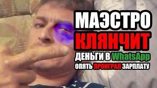 Савеловская КРЫСА Маэстро попрошайничает в WhatsApp / Женя Челяба / ЛюдиУхлюди / РВАЧ