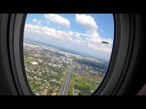 Emirates Boeing 777-300 takeoff Warsaw Chopin |  EK180 |