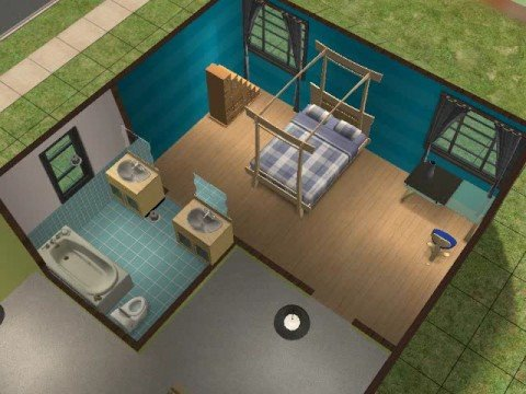 3 Bed Room Ideas For Sims 2