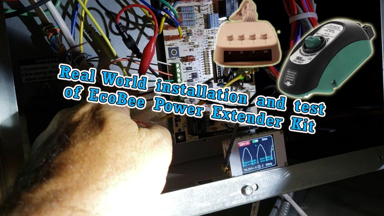 Installing And Testing Ecobee Pek  Power Extender Kit  In