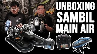 Unboxing Sambil Main Air Mp3