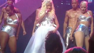 Nicki Minaj - Pound The Alarm Live - Pink Friday Tour - Chicago Theater - July 16, 2012 - Chicago